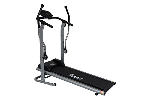 Cross Training Manual Magntic Treadmill by Sunny Health & Fitness – SF-T7615